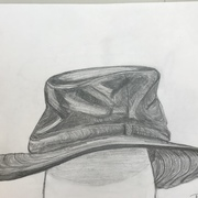 Pencil Drawing Hat