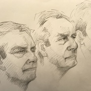 Three Pencil Portraits